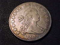 1805  EXTRA FINE   EARLY DRAPED BUST HALF DOLLAR
