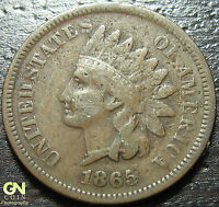 1865 INDIAN HEAD CENT      MAKE US AN OFFER!  Y2129