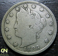 1883 WITH CENTS LIBERTY V NICKEL      MAKE US AN OFFER!  W2352 ZXCV
