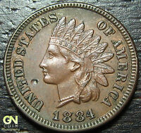 1884 INDIAN HEAD CENT      MAKE US AN OFFER!  Y3014