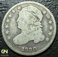 1830 CAPPED BUST DIME      MAKE US AN OFFER!  W1282  ZXCV
