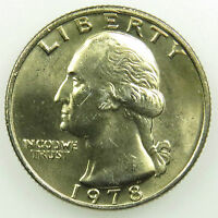 1978 UNCIRCULATED WASHINGTON QUARTER BU B04