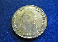 1830 BOLIVIA SILVER 4 SOLES   ABOUT EXTRA FINE