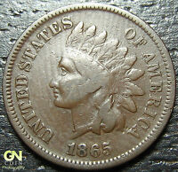 1865 INDIAN HEAD CENT  --  MAKE US AN OFFER  Y2981