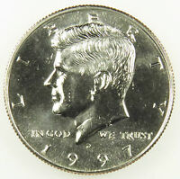 1997 D UNCIRCULATED KENNEDY HALF DOLLAR BU B01