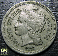 1873 3 CENT NICKEL PIECE      MAKE US AN OFFER  G2182