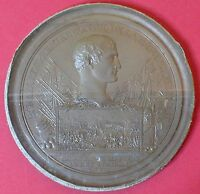 NAPOLEON I BATTLE OF MARENGO 1800 LEAD FILLED BRONZE MEDAL FROM ANDRIEU SHOP