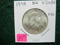 1948 FRANKLIN HALF DOLLAR   FBL