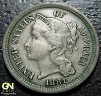 1881 3 CENT NICKEL PIECE      MAKE US AN OFFER  O1230