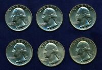U.S. 1977 D,1978 D,1979 D,1980 D..  WASHINGTON QUARTERS