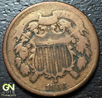 1866 2 CENT PIECE  --  MAKE US AN OFFER  Y3473