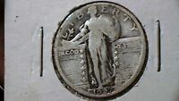 1927 STANDING LIBERTY QUARTER BEAUTIFUL CLASSIC COIN 627A8