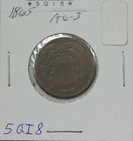 1865 TWO CENT AG