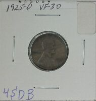 1925-D WHEAT CENT VF
