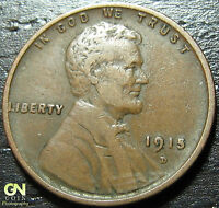 1915 D LINCOLN CENT WHEAT PENNY      MAKE US AN OFFER  G4056