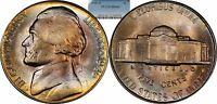 1946 D JEFFERSON NICKEL UNC PCGS MS66 TONED
