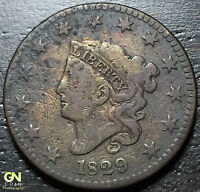 1829 CORONET HEAD LARGE CENT     MAKE US AN OFFER  G3868