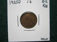 1925 D LINCOLN CENT