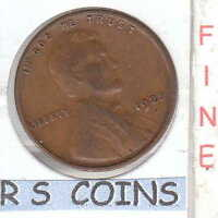 1925 D     FINE   LINCOLN  CENT    COIN RS COINS HAS SHIPS FREE  635