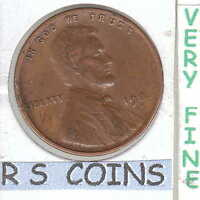 1925 D    FINE  LINCOLN CENT   COIN RS COINS HAS SHIPS FREE  1004