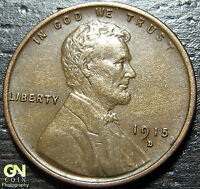 1915 D LINCOLN CENT WHEAT PENNY      MAKE US AN OFFER  G3720
