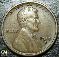 1913 S LINCOLN CENT WHEAT CENT  --  MAKE US AN OFFER  G2934