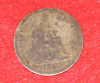 1885 SILVER LIBERTY SEATED DIME