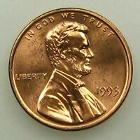 1993 UNCIRCULATED LINCOLN MEMORIAL CENT PENNY B05