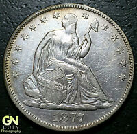 1877 SEATED LIBERTY HALF DOLLAR      MAKE US AN OFFER  W3807 ZXCV