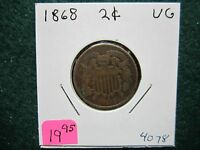 1868  TWO CENT