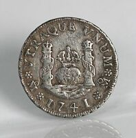 RAW 1741 MEXICO MO MF 1 REALE 1R UNCERTIFIED UNGRADED NICE DETAILS INSPECT PHOTO