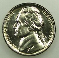1987 P UNCIRCULATED JEFFERSON NICKEL B05