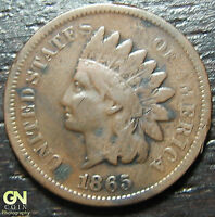 1865 INDIAN HEAD CENT  --  MAKE US AN OFFER  Y4418