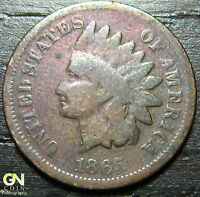 1865 P INDIAN HEAD CENT  --  MAKE US AN OFFER  Y4620