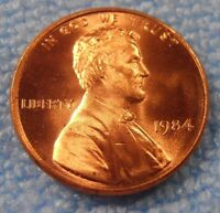 1984 P LINCOLN CENT    BU COIN
