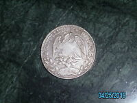 MEXICO 8 REALES 1880 ZS JS 10D 20 GRAMS PURE SILVER VERY NICE COIN