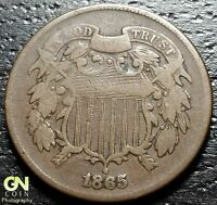 1865 2 CENT PIECE  --  MAKE US AN OFFER  G3370