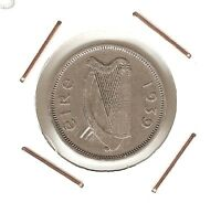 IRELAND: 6 PENCE 1939 VF