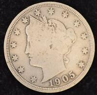 1905  GOOD LIBERTY NICKEL