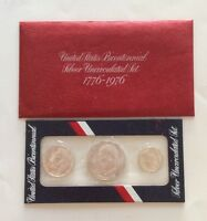 UNITED STATES MINT'S BICENTENNIAL SILVER UNCIRCULATED SET 1776 1976