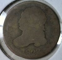 1823 / 1822 CAPPED BUST SILVER DIME US COIN .10 ESTATAE FIND LOT