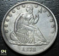 1878 SEATED LIBERTY HALF DOLLAR