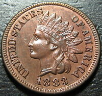 1883 INDIAN HEAD CENT     MAKE US AN OFFER  O2619