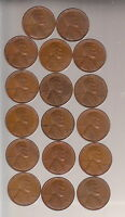 1934PD 1935PDS 1936PDS 1937PDS 1938PDS 1939PDS VERY FINE LINCOLN CENTS FREE SHIP