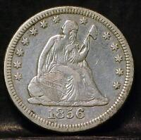 1856 O LIBERTY SEATED QUARTER IDQQ776