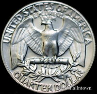 1981 P  WASHINGTON BRILLIANT UNCIRCULATED QUARTER   CHOICE COIN FROM BANK ROLL