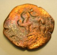 PIRATE COIN SPANISH EMPIRE 1550   1600 FOUND WHITES METAL DETECTOR PART OF CACHE