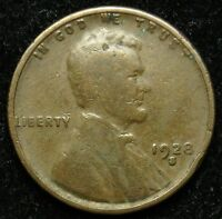 1928 S LINCOLN WHEAT CENT PENNY G GOOD B01