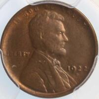 1922 D LINCOLN  CENT PCGS MS63BN PLENTY OF RED ON THIS BROWN COIN SEMI KEY