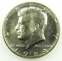 1984 D UNCIRCULATED BU KENNEDY HALF DOLLAR B04